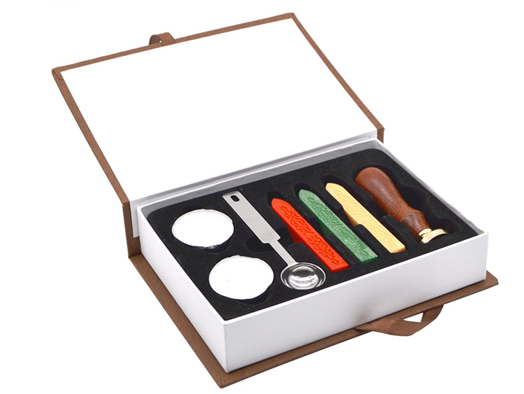 Wedding Diy Letter Sealing Wax and Wax Seal Stamp kit Gift Set