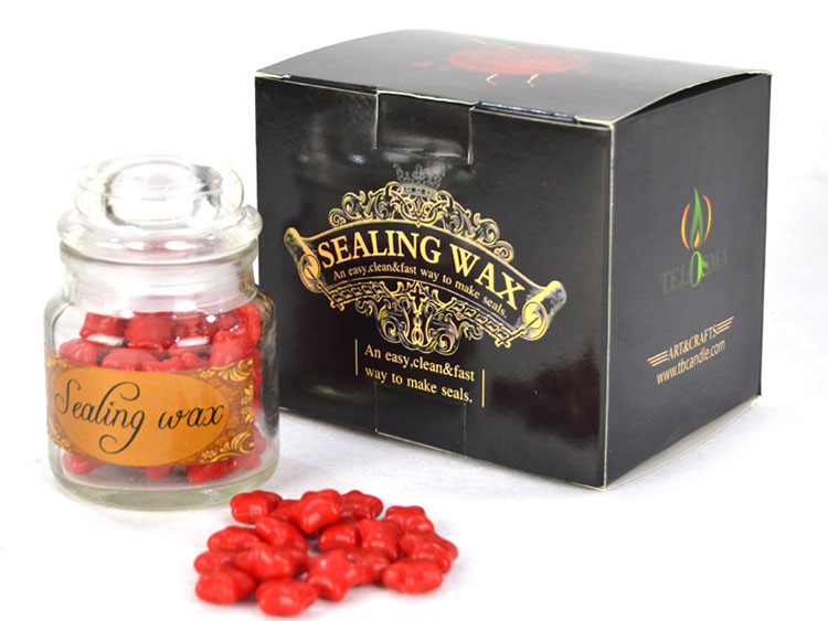 Traditional Flexible and Mailable Genuine Sealing Wax beads