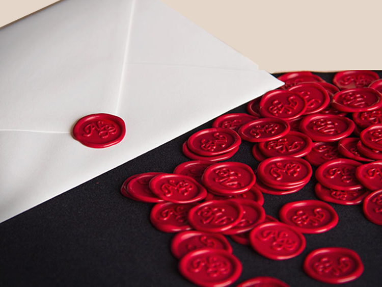 Sealing wax is the seal of time